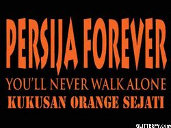 Kaos Keren Persija Gue Jakmania Orange jak 017 06 01 10