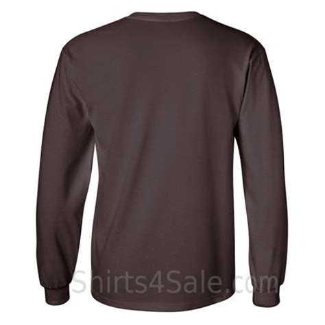Kaos Dickies Lengan Panjang brown sleeve shirt artee shirt