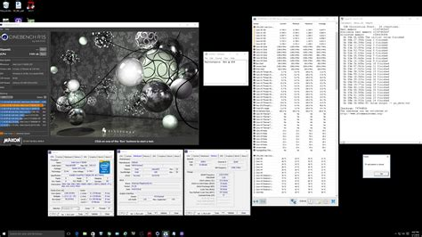 cine bench intel core i7 6850k clicked benchmarked and compared