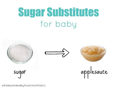 healthy sugar substitutes for baby food wholesomebabyfood