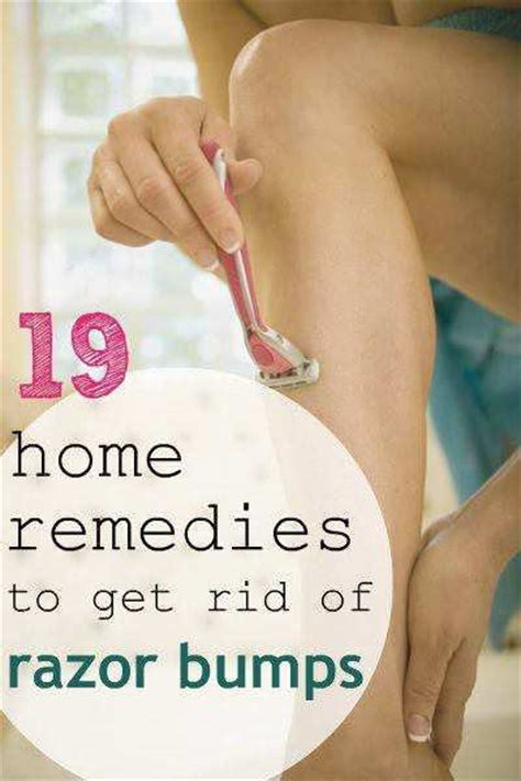 19 home remedies for curing razor bumps