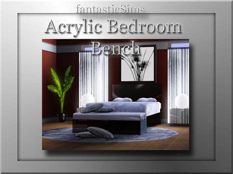 acrylic bedroom furniture fantasticsims acrylic bedroom set