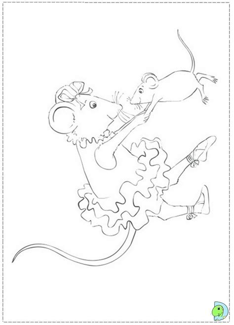 coloring pages of angelina ballerina get this free angelina ballerina coloring pages 5707