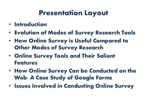 Internet Survey Tools - online survey tools ppt 30 01 2016