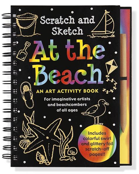 sketch and scratch book at the trace along scratch and sketch activity book