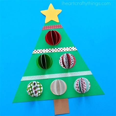 paper christmas treecraft 3d paper tree craft