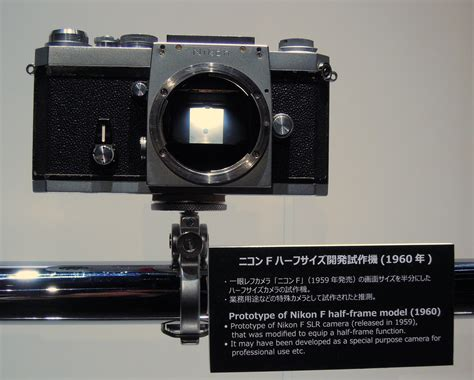 nikon frame models the nikon museum special exhibition quot prototype cameras quot