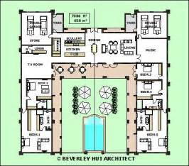 H Shaped House Floor Plans H Shaped House Plans With Pool In The Middle Pg3