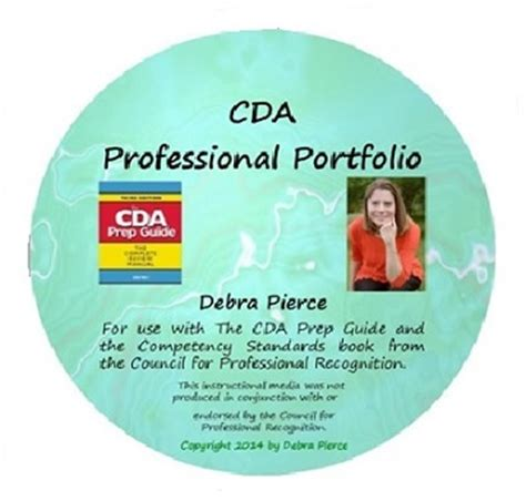 cda portfolio template cda dvd for preschool