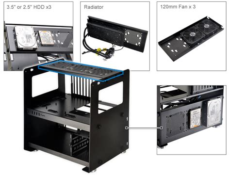 lian li t60 test bench pcs pc components