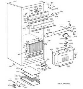 General electric refrigerator parts diagram ge profile refrigerator