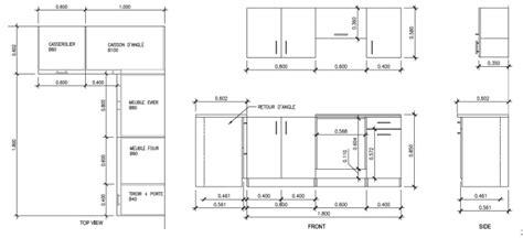 hauteur meuble haut de cuisine hauteur meuble haut cuisine plan de travail evtod