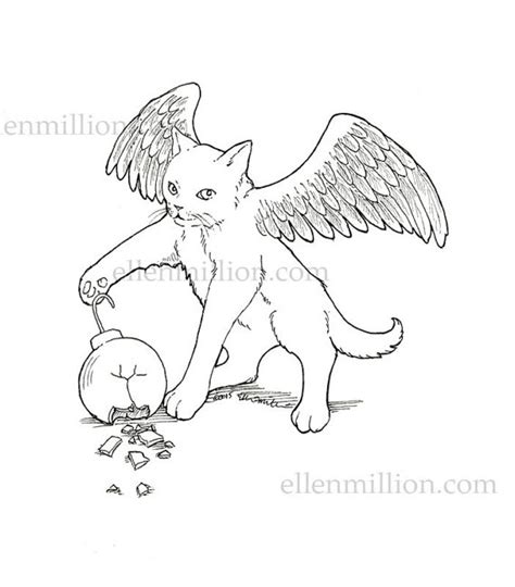 angel cat coloring page 95 angel cat coloring page some of the benefits