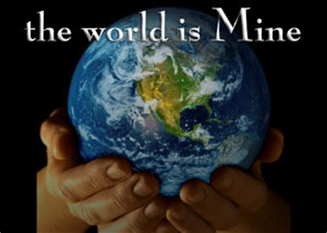 the world is mine this is my s world recording