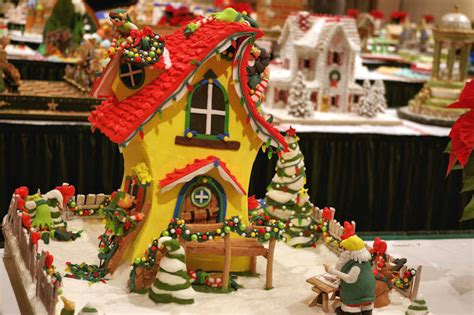 gingerbread house competition national gingerbread house competition at the omni grove park inn nov 27 2016 jan