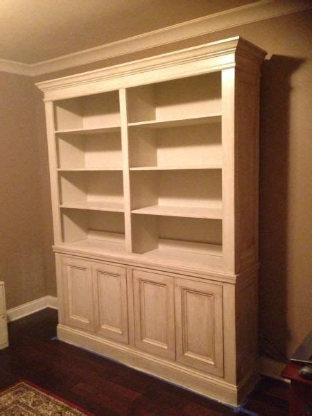 built  bookcase plans woodworking