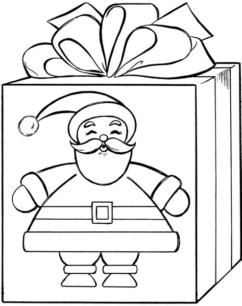 coloring pages of a christmas present 6 christmas gift coloring pages merry christmas