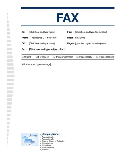 100 fax cover sheet template word 2010 word fax