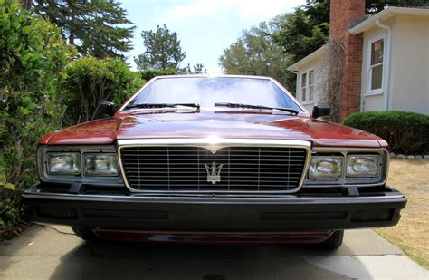 how to sell used cars 1984 maserati quattroporte electronic throttle control 1982 maserati quattroporte iii for sale