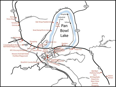 jackson kentucky map breathitt county maps