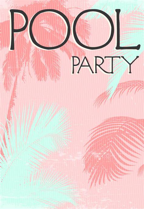 pool invite template summer invitation free printable in the sun