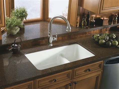 Sink Options For Granite Countertops by 25 Best Ideas About Granite Kitchen Sinks On