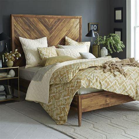 Large Bed Headboards by Best 20 Herringbone Headboard Ideas On Wood