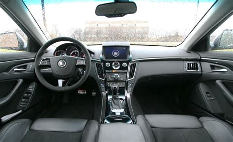 Cadillac Cts Interior by Car And Driver