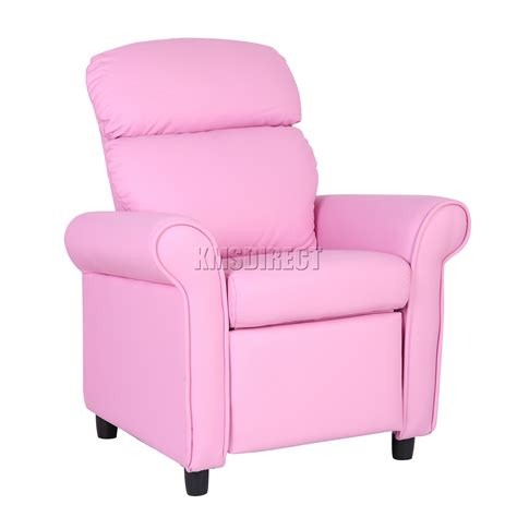 kids recliner chair uk foxhunter kids recliner armchair games chair sofa children