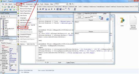 tutorial delphi dasar tutorial delphi dasar tutorial membuat injek tahap dasar
