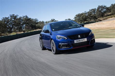 peugeot 308 gti white peugeot 308 gti facelift 2017 review by car magazine