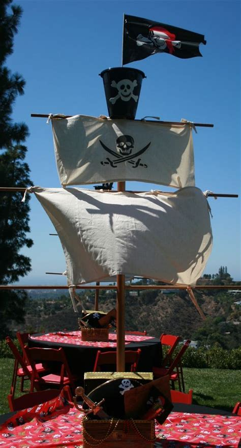 pirate ship decoration party ideas pinterest easy