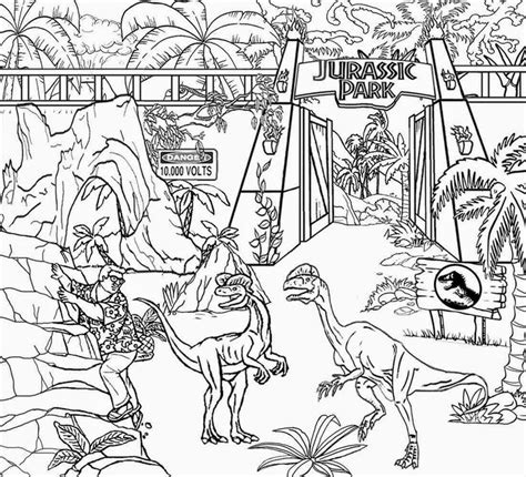 coloring page jurassic world jurassic world coloring pages free printing 27 free