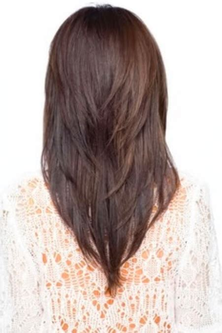 long  shape hair  shag layers women hairstyles