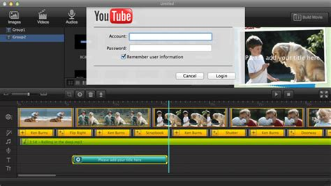 tutorial movie maker mac how to make movies for youtube on mac with youtube movie