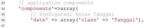 tutorial yii framework bahasa indonesia pdf membuat component di yii framework