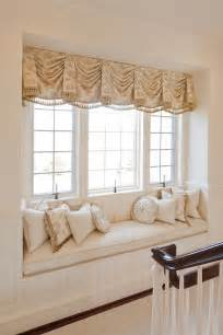 window seat curtains window treatment window dressing pinterest