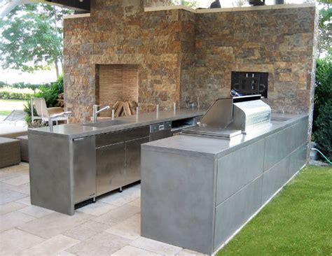 Outdoor Kitchen Concrete Countertop by 13 Concrete Countertop Designs Ideas Design Trends