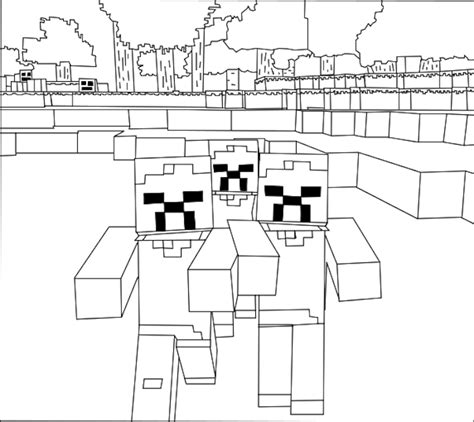Minecraft Coloring Pages Coloring Ploo Fr