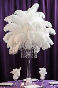 black feather centerpieces 25 best ideas about ostrich feathers on