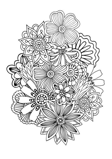 coloring page zen zen anti stress coloring page abstract pattern