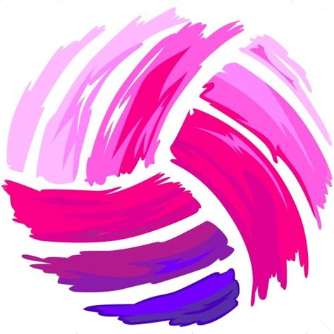clipart volleyball pink volleyball clip art cliparts