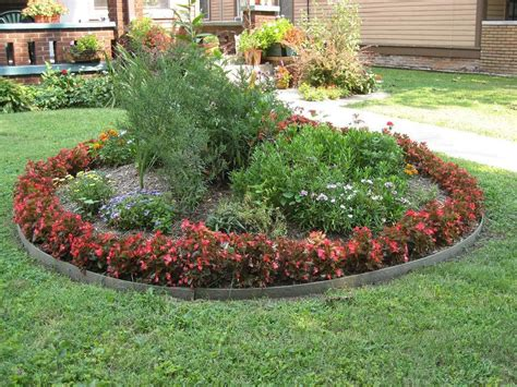 flower beds   beautify  yard