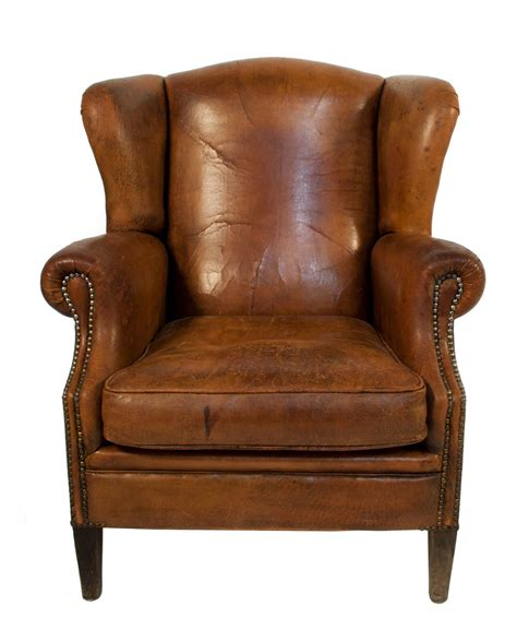 leather wing back chair leather wingback chair 1920s vintage 1920s home