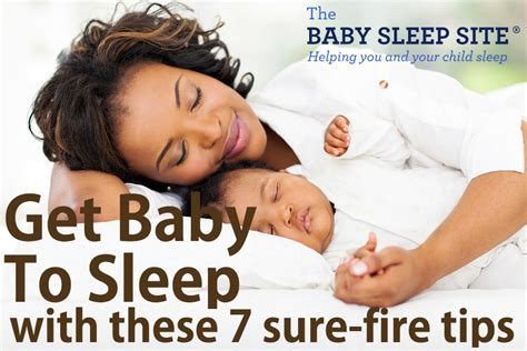 how to get a baby to sleep in a crib get baby to sleep 7 sure tips the baby sleep site