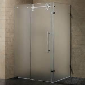 modern minimalist bathroom design with brown exposed false