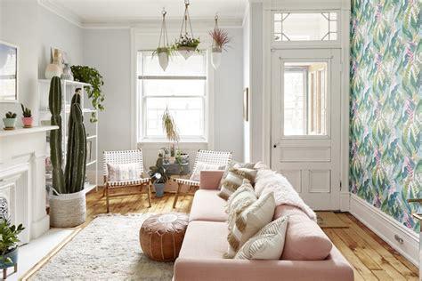le rose pastel nouvelle couleur pour les murs de votre salon