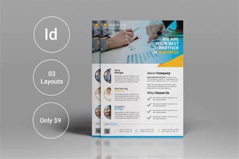 15 corporate flyer template psd indesign word format