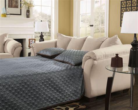 Darcy Stone Full Sleeper Sofa From Ashley 7500036