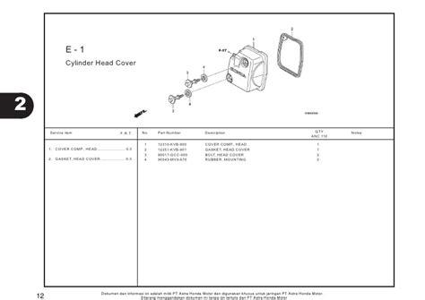 Aksesoris Beat Vario 110 Scoopy Fi Cover Filter Knalpot Crom Chrom 1 katalog mesin ec vario